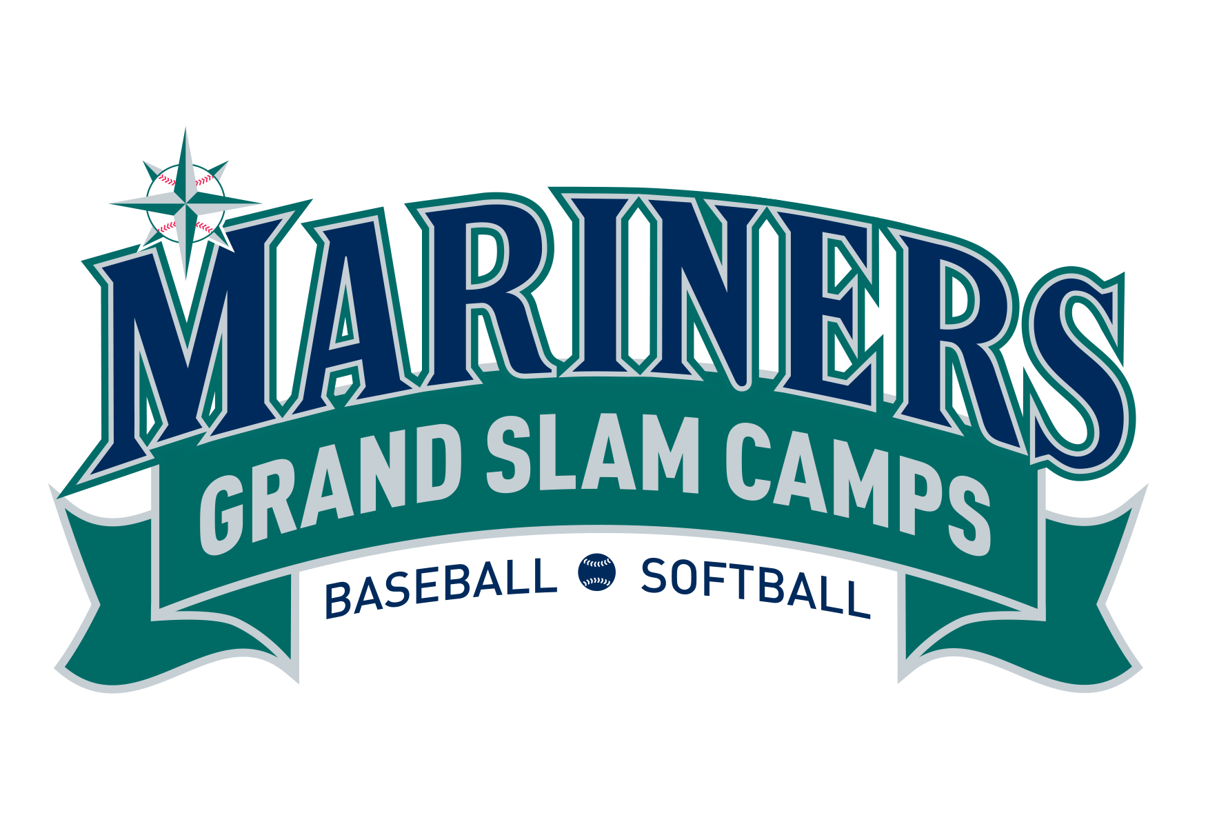 Mariners Grand Slam Camps Logo